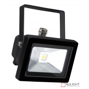 Foco 10W Led Flood Light Black Ip65 ORI
