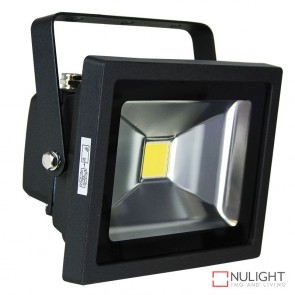 Foco 20W Led Flood Light Black Ip65 ORI