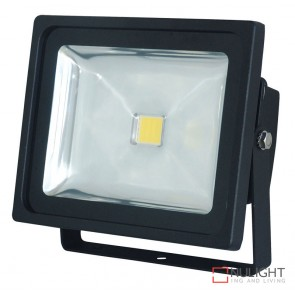 Foco 30W Led Flood Light Black ORI