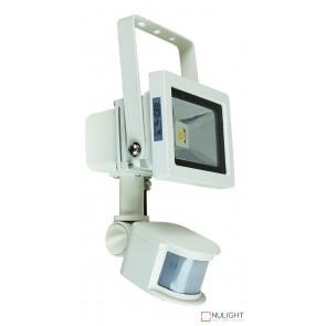 Foco 10W Led Sensor Flood Light White Ip44 ORI