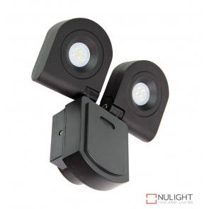 Curo Twin Led Flood Light 4000K Black ORI