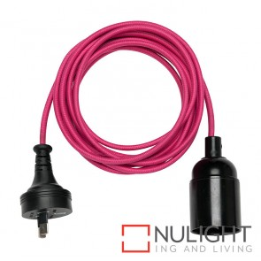 Gypsy Cordset With Plug Pink MEC