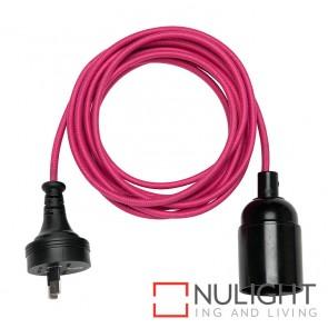 Gypsy Cordset With Plug Pink MEC