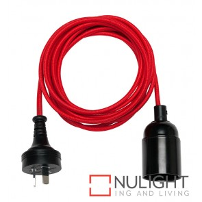 Gypsy Cordset With Plug Red MEC