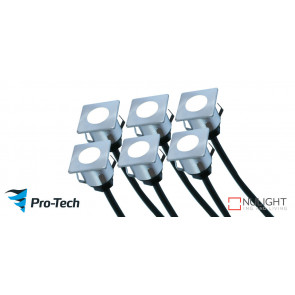 Manly Deck Lights 6 Pack Blue VTA