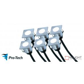 Manly Deck Lights 6 Pack Blue VTA