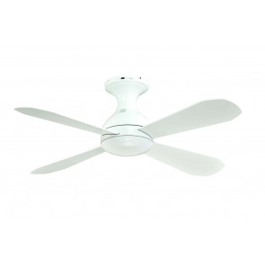 Ariel CTC Ceiling Fan in White Martec