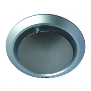 Gyro Round Exhaust Fan in Silver Martec