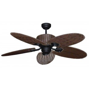 Hamilton 130cm Hamilton 5 Blade Palm Fan in Old Bronze Martec
