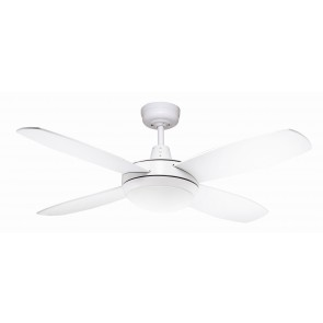 "Lifestyle LED 107cm (42"") Mini White Ceiling Fan Martec"