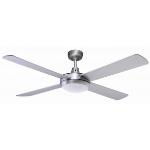 "Lifestyle LED 130 cm (52"") Brushed Aluminium Ceiling Fan Martec"