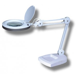 Magna Pro 5-8w LED Task Lamp 3x Diopter Magnification Martec