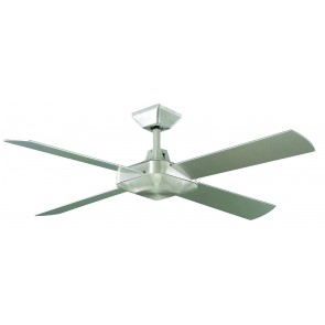 Quadrant 130cm Ceiling Fan in Brushed Aluminum Martec