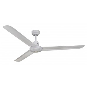Trisera Interchangeable 3 or 4 Blade 150cm Ceiling Fan in White Martec