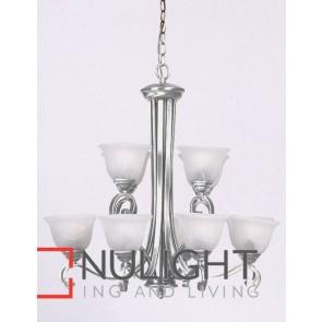 Mi Lighton 12 Light Pendant Antique Brass MEC