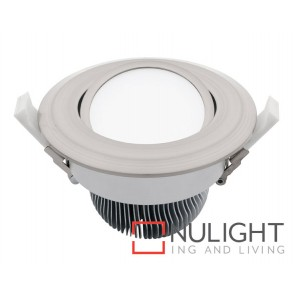 Equinox 2 16W Led Downlight Gimble Silver 3000K MEC