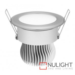 Equinox 11W Led Downlight 3000K Silver MEC