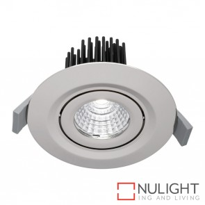 Mezzo 12 Watt Led Downlight - 3000K Silver MEC