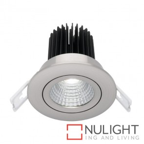 Gizmo 12 Watt Led Downlight - Gimble Silver 3000K MEC