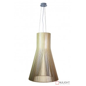 Nord Extra Large 3 Light Wooden Pendant ORI