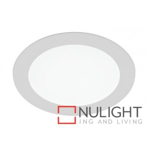 Theo 12W LED Recessed Round Panel 5000k MEC