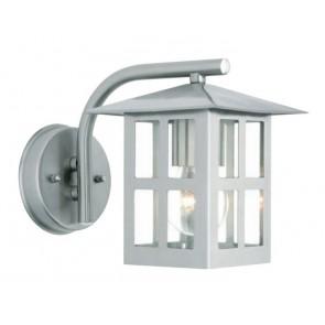 Charlie One Light Exterior Wall Bracket in Stainless Steel Mercator Lighting