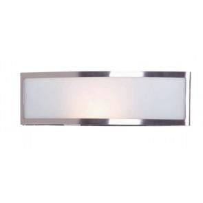 Hemi One Light Wall Sconce in Brushed Chrome Mercator Lighting