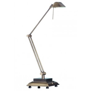 Merlo Desk Lamp in Antique Brass Mercator Lighting