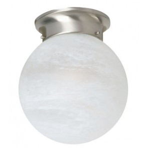 Murano One Light Alabaster DIY Mercator Lighting