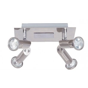 Pronto Four Light Plate Spotlight Mercator Lighting