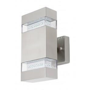 Romsey Wall Bracket in Stainless Steel Mercator Lighting