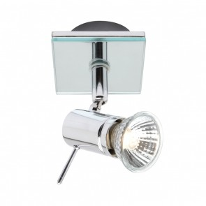 Stellar One Light Spotlight in Polished Chrome Mercator Lighting