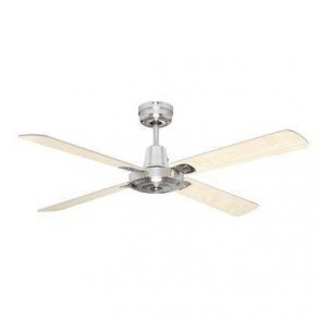 Swift 120cm Ceiling Fan with Timber Blades Mercator Lighting