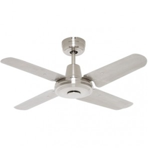 Swift 90cm Mini Ceiling Fan with Metal Blades Mercator Lighting
