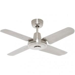 Swift 90cm Mini Ceiling Fan with Metal Blades Mercator Lighting