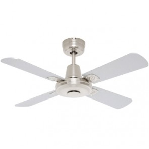 Swift 90cm Mini Ceiling Fan with Timber Blades Mercator Lighting