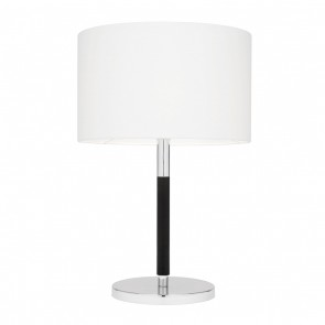 Westwood One Light Table Lamp in Chrome / Black Mercator Lighting