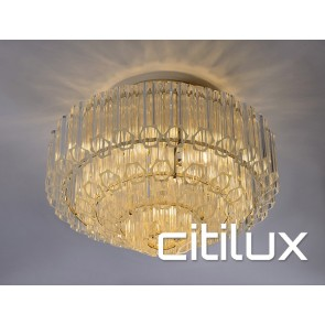 Messina 7 Lights Chandelier Gold Citilux