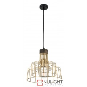 Tommy Pendant Brass Light MEC