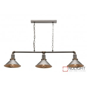 Rafael 3 Light Bar Pendant MEC