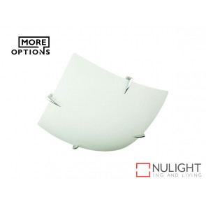 Rica Square Fluorescent T5 Oyster Chrome ORI