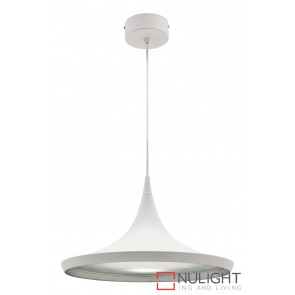 Aiden 15W Led Pendant White MEC