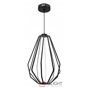 Broadway LED Pendant Black MEC