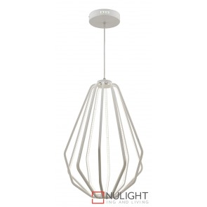 Broadway LED Pendant White MEC
