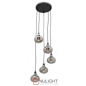 Nancy 5 Light Pendant MEC