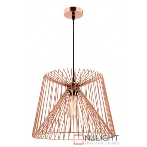 Zurich Large Pendant Copper MEC