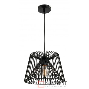 Zurich Small Pendant Black MEC
