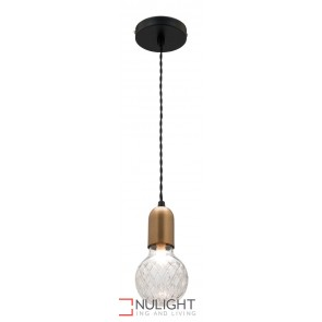 Sicily 1 Light Led Pendant MEC