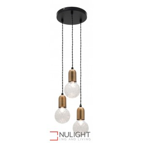 Sicily 3 Light Led Pendant MEC