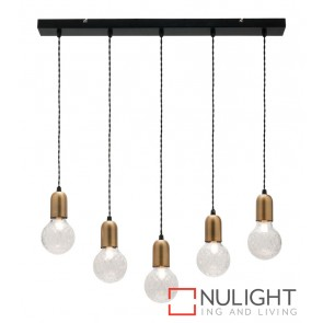 Sicily 5 Light Led Pendant MEC